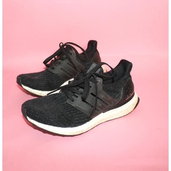 adcaee80ec1 adidas Shoes | Ultra Boost Black Sneakers | Poshmark